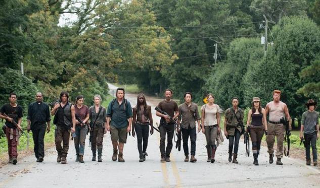 Alexandria Safe Zone in Walking Dead (Season 5)